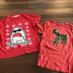 Size 9-10 Mini Boden Tshirts